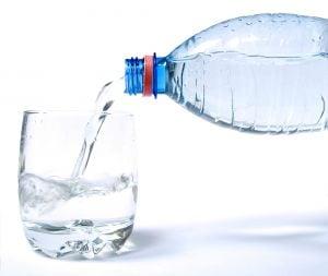 Wasser regt den Stoffwechsel an