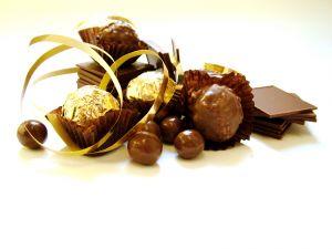 Schokolade am Weinachten