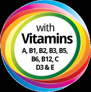 """Der """"Evo Shake"""" hat noch zusätzlich wichtige Vitamine"""