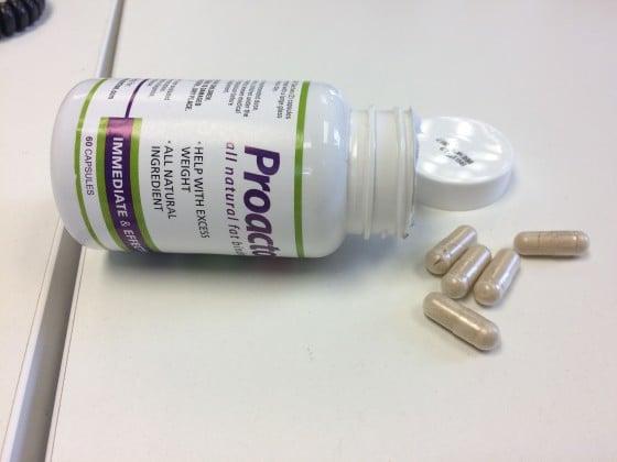 Proactol XS - 2 Kapseln vor jeder Mahlzeit und der Fett schmilzt von selbst!