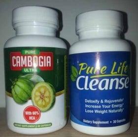Pure Cambogia Ultra und Pure Life Cleanse