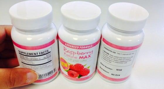 Raspberry Ketone Max Inhaltsstoffe