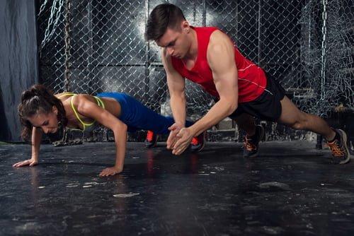 Trainieren Sie mit einem Trainer