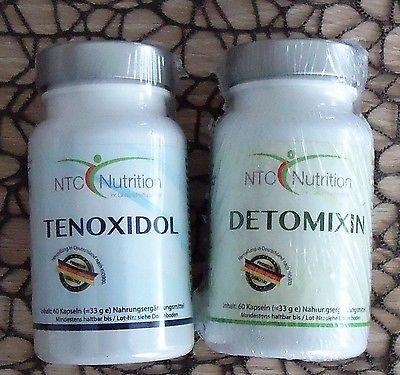 Tenoxidil und Detomixin