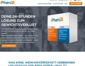 Phen24 offizielle Web Seite